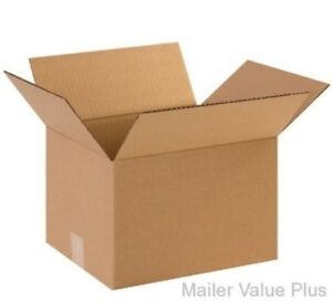50 6 X 4 X 4 Shipping Boxes Packing Moving Storage Cartons Mailing Box