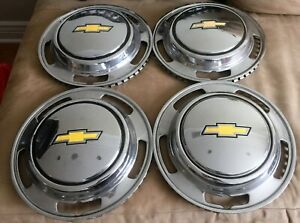 Vintage Chevy Chevrolet Luv Pickup Truck Wheel Covers Hubcaps Set 1970s