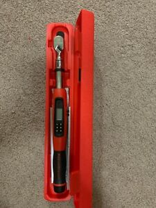 Gearwrench Electronic Torque Wrench 3 8 In Drive Flex head Kdt85078