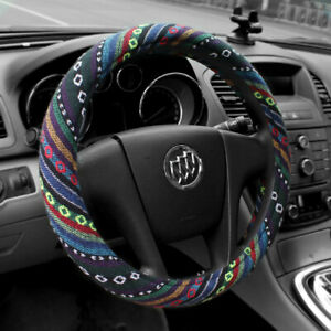 15 Baja Car Steering Wheel Cover Size M Fit Most Sedan Colorful Universal New