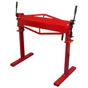 36 Inch Sheet Metal Bending Brake Bender 12 Gauge Bending Machine