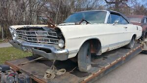 2 Door Fastback Roof 67 Galaxie 500 Ford 1967 68 1968 Galaxy