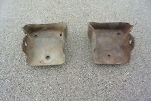 73 87 Chevy Gmc Truck Sbc Engine Clamshell Motor Mount Brackets 14037877