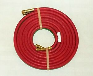 Grade Rm 12 X 3 16 Twin Welding Torch Hose A Size Oxygen Acetylene Made In Usa
