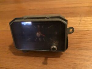 Borg Instruments Dash Clock Assembly 1972 1973 Buick Riviera Works