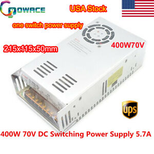 1x Switching Power Supply 400w 70v 5 7a Single Output For Cnc Router Mill
