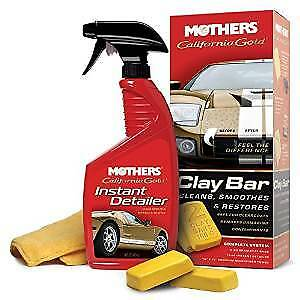Mothers California Gold Clay Bar Paint Saving System 2 Pack Mot07240 2pk