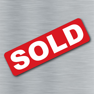 Sold Magnet Real Estate Magnetic Sign Rider Free Shipping