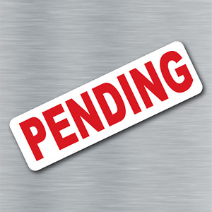 Pending Magnet Real Estate Magnetic Sign Rider Free Shipping