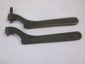 Original South Bend 9 10k Spanner Wrench Lathe Tool Pair 1 1 2 Spindle Frees