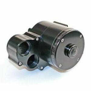Meziere Wp362 Electric Water Pump 55 Gpm Radiator Mount Dual Outlet Aluminum