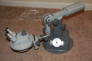 B l Fully Articulated Boom Zoom Stereo Microscope