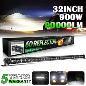 Single Row 32 Inch Ultra Slim Led Work Light Bar Offroad 4x4 Truck 7 20 30