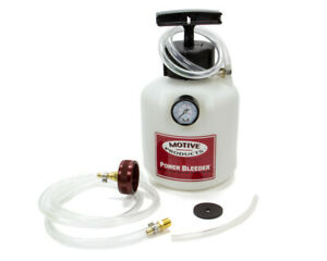 Motive Products Brake Power Bleeder System P n 109