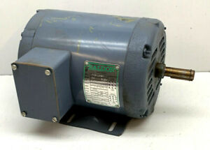 Baldor M3109 3 phase Ac Motor 1 2hp 1140rpm 208 220 440v 2 5 2 4 1 2a 3 phase