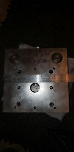 Danly Style Punch Press Die Set 10 10 10 12 Plates Great Shape