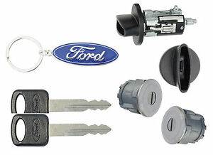 Ford Ranger 1997 2007 P U Ignition Door Lock Cylinders With 2 Keys New