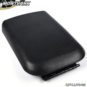 Center Console Arm Rest Lid Top Pad Cover Compartment Door For Ford Mustang 05