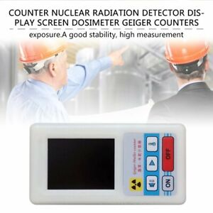 Counter Nuclear Radiation Detector Display Screen Dosimeter Geiger Counters Mi