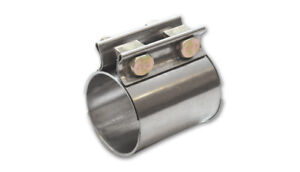 Vibrant 1171 Tc Series High Exhaust Sleeve Clamp For 2 5in O d Tubing