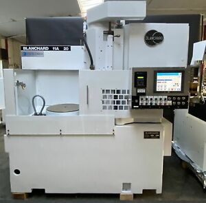 20 Cnc Blanchard W 12 New Touch Screen ab Ctl 1 Yr War Rotary Surface Grinder