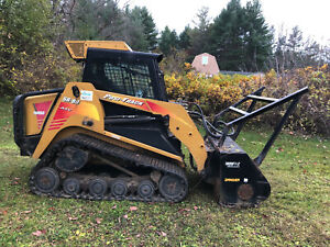 Asv Sr80 Tracked Skid Steer With Forestry Mulcher In Vermont