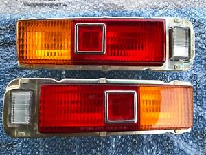 Toyota Corona 68 Rt40 Tail Light Lamps L R New Old Stock