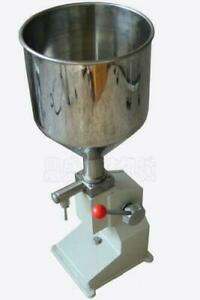 Manual Filling Machine For Cream Shampoo Cosmetic Lube Fluid Food Us