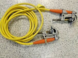 Salisbury High Voltage Electrical Grounds Group Of 4 1 0 Duck Bill Clamps Br