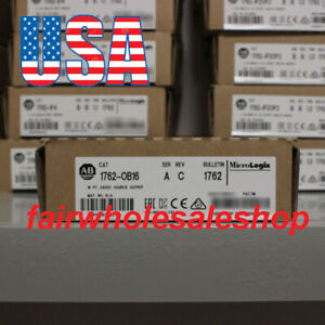 New Box Allen bradley Micrologix 1762 ob16 16 Point 24v Dc Source Output Module