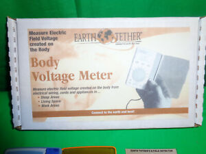 Body Voltage Meter By Earth Tether