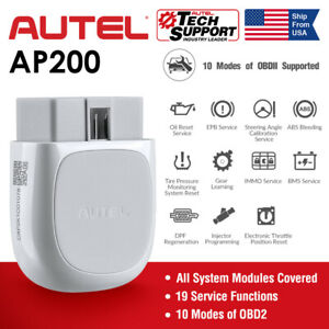 Autel Maxi Ap200 Bluetooth Obd2 Car Code Reader Auto Diagnostic Tool Full System