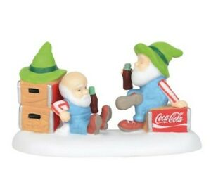 Dept 56 North Pole Coca-Cola The Pause That Refreshes 6003121 BRAND NEW Free Shp