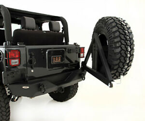 Smittybilt 76856 01 2007 17 Jeep Jk Rear Bumper W class 3 Receiver Hitch