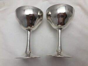 S Kirk Son Sterling Silver 925 4 5 Sherry Red Wine Champagne Goblets 2