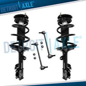 Front Struts Sway Bars For Toyota Highlander Lexus Rx330 Rx350 Rx400h