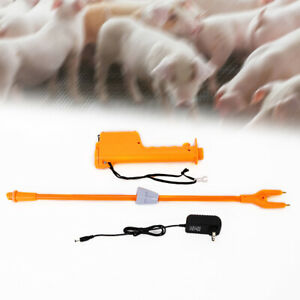 Rechargeable Livestock Cattle Pig Prod Handle Electric Animal Stock Prodder Best