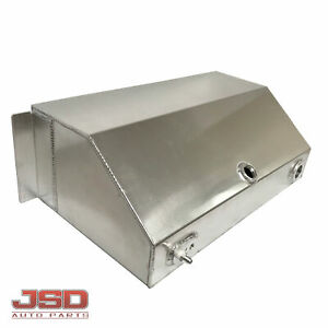 New 16 Gallon Fuel Tank All Aluminum Universal Street Rod Custom Truck Gas Tank