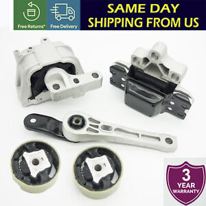 Engine Transmission Motor Mount Kit Set Subframe For Vw Jetta Golf Passat 2 5l