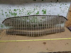 1956 Cadillac 4 Door Ht Sedan Deville Front Grille Screen Molding Trim Oem