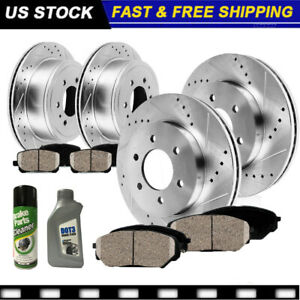 Front Rear Rotors Ceramic Pads 2003 2004 2005 2006 Ford Expedition Navigator