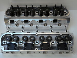 Aluminium Cylinder Heads Ford Windsor 289 302 351 Roller Rockers Studs Sbf