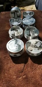 Custom Turbocharged 632 Big Block Chevy Forged Pistons New