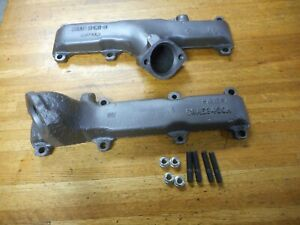 1968 1969 1970 1971 Ford Galaxie Mercury 390 428 Exhaust Manifolds Pair