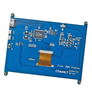 7inch Capacitive Touch Screen Lcd For Raspberry Pi 1024 600 Ips Display