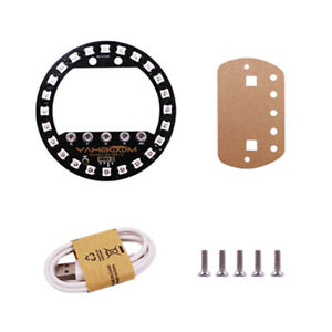 Microbit Halo Expansion Board Colorful Leds Circular Control For Arduino