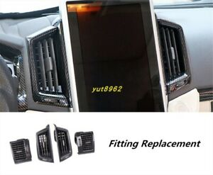 Car Central Control Air Outlet Trim For Toyota Land Cruiser Lc200 2016 2019