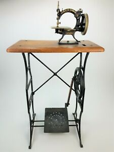 Antique Ideal Child S Treadle Sewing Machine