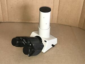 Nikon Microscope Uw Trinocular Head 30mm For Labophot Optiphot