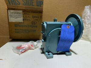 Robbins Myers 2225f Worm Gear Speed Reducer Rh 30 1 Ratio 1 26 Input Hp